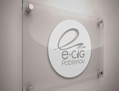 Branding  y Corporate E-CIG Venta de Cigarrillos Electrónicos