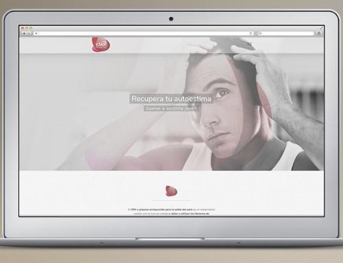 One Page Web Responsive Ciaoalopecia.com